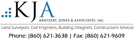 Kratzert, Jones & Associates Inc. – Connecticut Civil Engineering Firm Logo